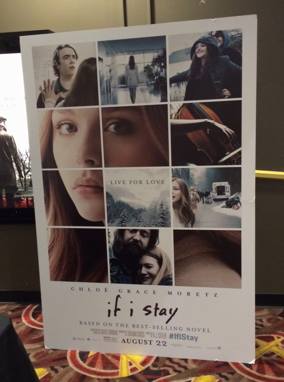 If I Stay Movie Thoughts + Giveaway