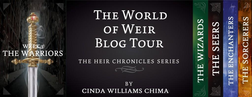 Blog Tour: The World of Weir