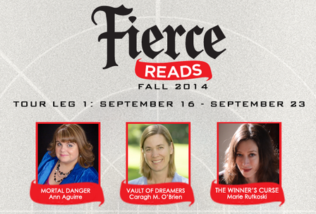 Interview: Fierce Reads Tour Stop, giveaway